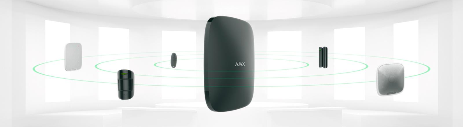 AJAX riasztórendszer -